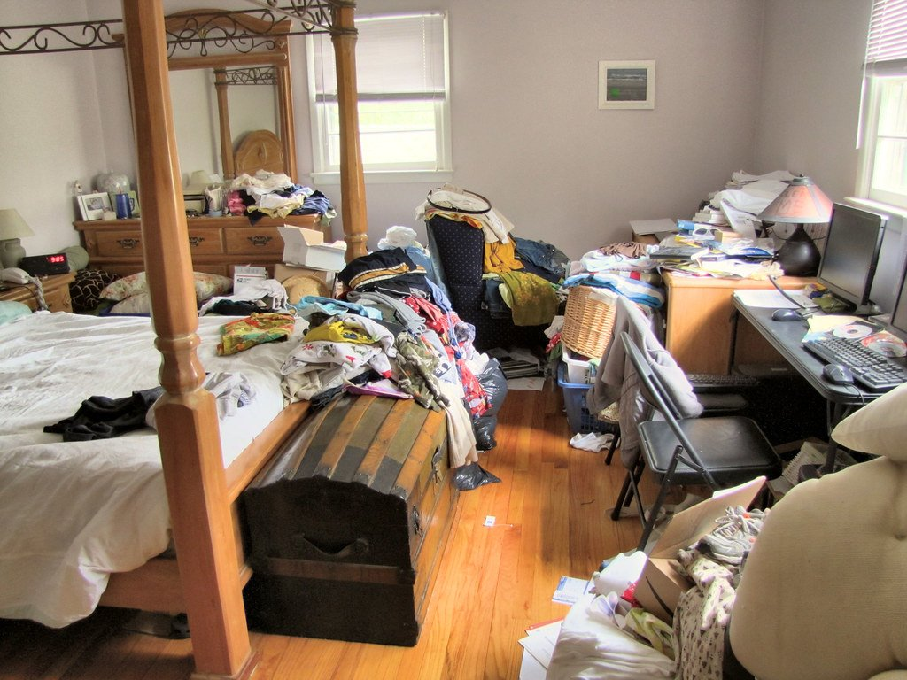 Messy Room in need of storage