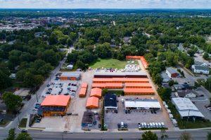 Storage Facility Aerial View