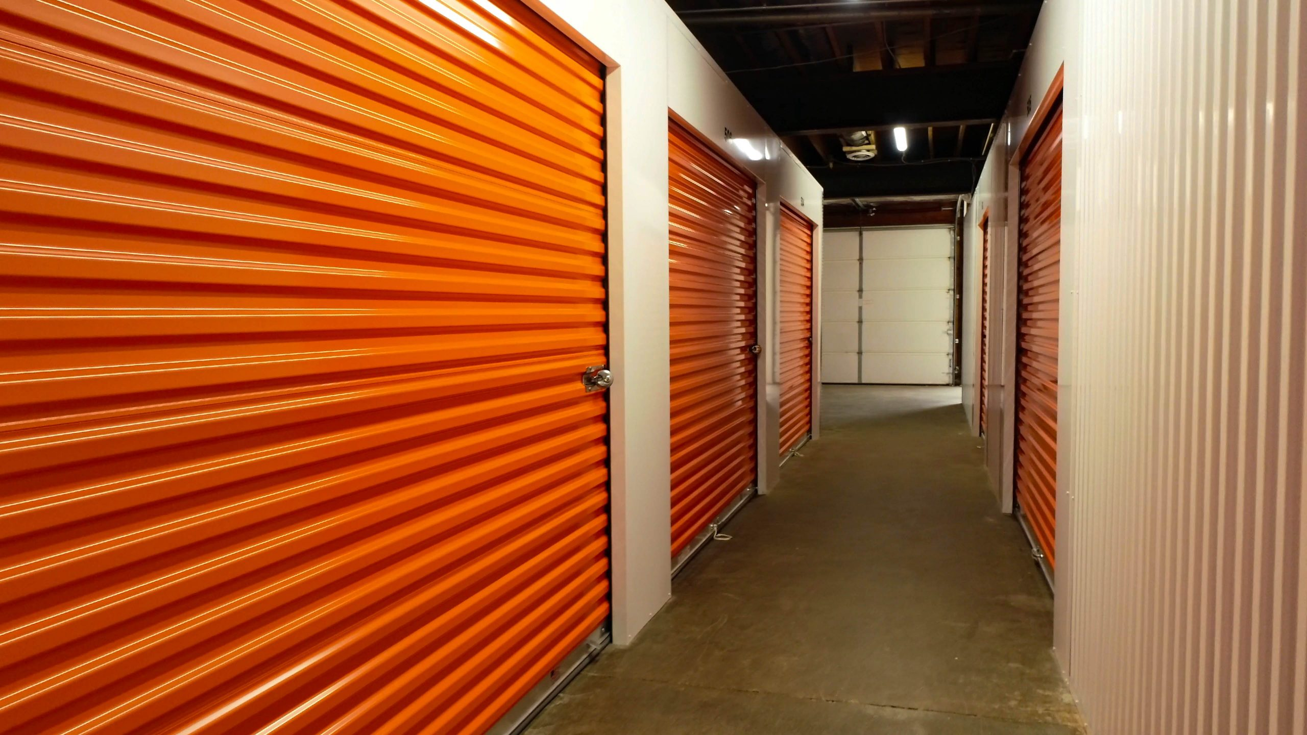 Inside Aerial view of Bloomington Affordable Self Storage