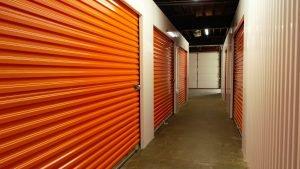 Inside Storage Facility