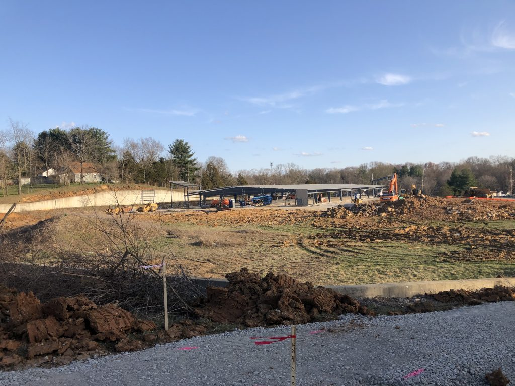 Ellettsville Storage Location Under Construction